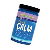 Natural Calm Bath Lavender Natural Vitality 20 oz Powder