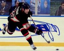Cam Barker Signed/Autographed NHL Hockey Winter Classic 8x10