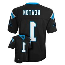 Cam Newton Carolina Panthers Black NFL Kids 2016-17 Season
