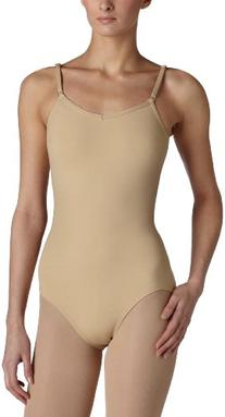 Capezio Women's Camisole Leotard With Adjustable Straps,Nude