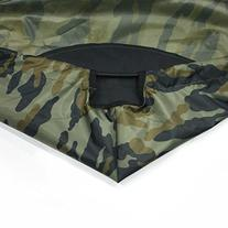 Leader Accessories Camouflage Jon Boat Cover