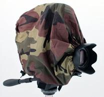Camouflage Camera Rain Cover For Canon Models with lens