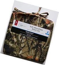 Mainstays Camouflage Soft Microfiber Full Sheet Set