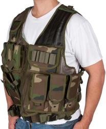 Camouflage Tactical Airsoft and Hunting Vest