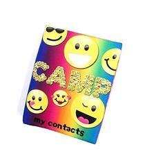 Bunk Junk Camp Emoji Contact Book