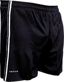 Vizari Campo Soccer Shorts, Black, Adult X-Large
