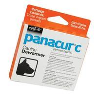 Panacur C Canine Dewormer, Net Wt. 12 grams, Package
