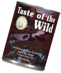 Taste of the Wild Canned Dog Food for All Lifestages,