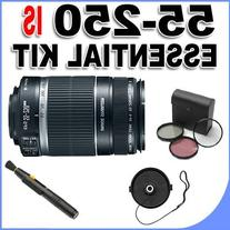 Canon EF-S 55-250mm f/4.0-5.6 IS Telephoto Zoom Lens for