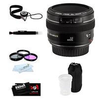 Canon EF 50mm F1.4 USM Medium Telephoto Lens + Accessory Kit