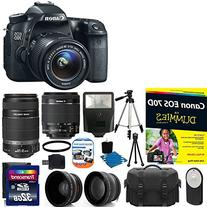 Canon EOS 70D 20.2 MP Digital SLR Camera with Dual Pixel