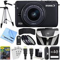 Canon EOS M10 Mirrorless Camera Black 15-45mm Lens 64GB