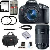 Canon EOS Rebel T5i DSLR Camera with EF-S 18-55mm f/3.5-5.6