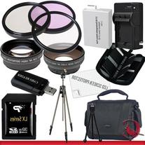 Canon T4i Accessory Saver Kit (58mm Wide Angle Lens + 58mm