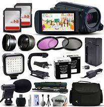 Canon VIXIA HF R62 HD Video Camcorder with 2X 64GB SD Card,