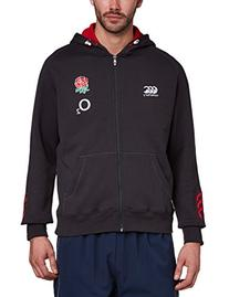 CANTERBURY England Training Full Zip Men's Hoody, Dark Grey
