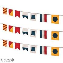 Canvas Nautical Flags Pennant Banners