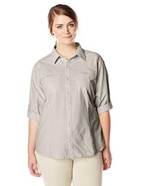 White Sierra Women's Canyon Crest Long Sleeve Shirt , Stone