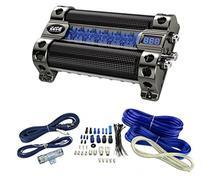 NEW BOSS CAP8 8 FARAD LED Digital Car Power Capacitor Cap +