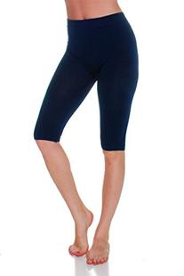Emmalise Women's Capri 17 in Knee Length Seamless Legging