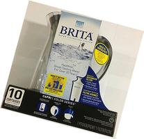 Brita Capri 10-cup Water Filter Pitcher Black