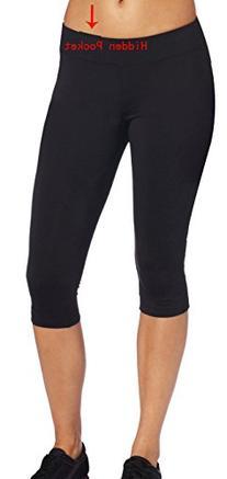 iLoveSIA Women's Tight Capri Legging Workout Pant US Size L
