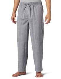 Nautica Men's Captains Herringbone Woven Pant, Anthracite,