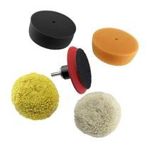 "RamPro 3"" Car Buffing & Wax Polishing Pad Kit - Drill"