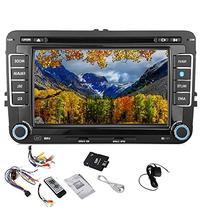 Pupug Car DVD GPS Video Player Stereo Radio HeadUnit For VW