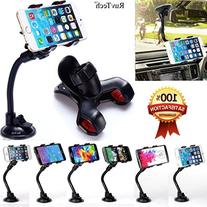 Car Mount, RuvTech, Cell phone Car Holder, Car Holder for