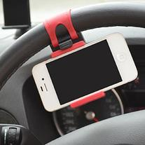 ABC® Car Steering wheel phone Universal Mount Holder Stand