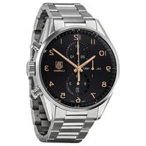 TAG Heuer Men's CAR2014.BA0799 Carrera Silver-Tone Stainless