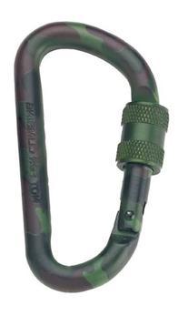 Rothco 80 mm Locking Accessory Carabineer, Camo