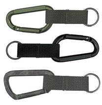 ROTHCO 80MM ACCESSORY CARABINER / WEB STRAP RING