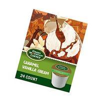 Green Mountain Caramel Vanilla Cream Coffee, K-cups, 24 ea