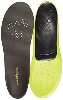 Superfeet Carbon Premium Pain Relief Insoles, Grey, Small/C