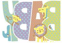Peaceable Kingdom / Card Set for New Babies - Box of 12
