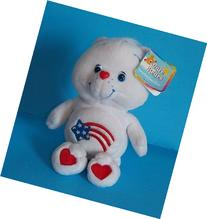"Care Bears AMERICA CARES Bear 8"" Plush"