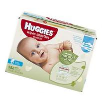 Huggies Natural Care Unscented Baby Wipes Refill - 552 Count