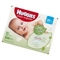 HUGGIES Natural Care Refreshing Baby Wipes, 368 Sheets