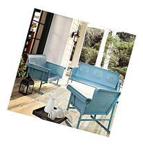 Crosley Furniture Caribbean Blue Veranda Glider
