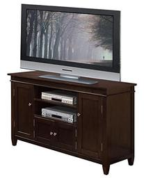 Simpli Home 3AXCCRL-08 Carlton Solid Wood TV Media Stand in
