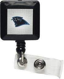 NFL Carolina Panthers 14120012 Retractable Badge Holder