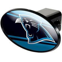 Carolina Panthers Oval Trailer Hitch Cover