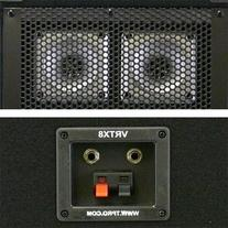 Technical Pro VRTX8 Passive DJ Speaker Pair 1200 Watts PA