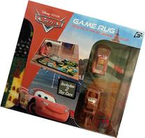 Disney Cars Game Rug Includes Mater and Lightning Mcqueen