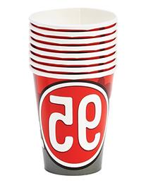Cars 9oz Paper Party Cups, Pack of 8, Party Supplies