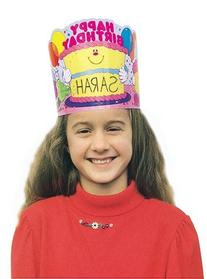 Carson Dellosa Happy Birthday Crowns