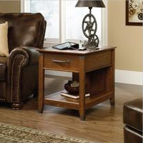 Sauder Carson Forge Smartcenter Side Table, Washington