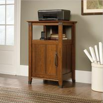 Sauder Carson Forge Technology Pier Free Standing Cabinet,